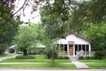 Our 1920 cottage in Old Sugar Land.