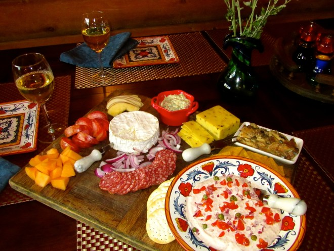 Smorgasbord for Two at Little House
