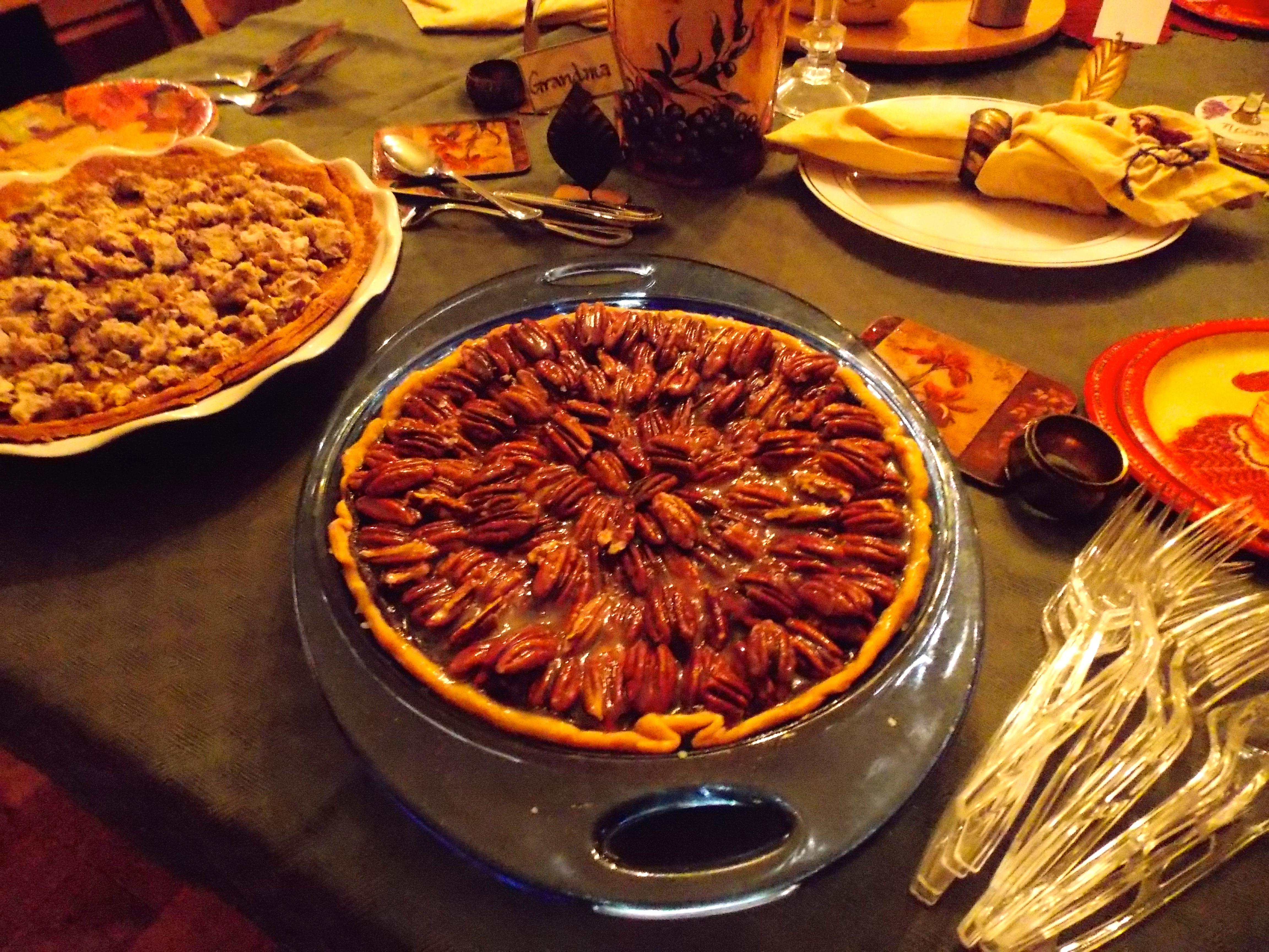 Food Magazine Treasures:  Salted-Caramel Chocolate Pecan Pie