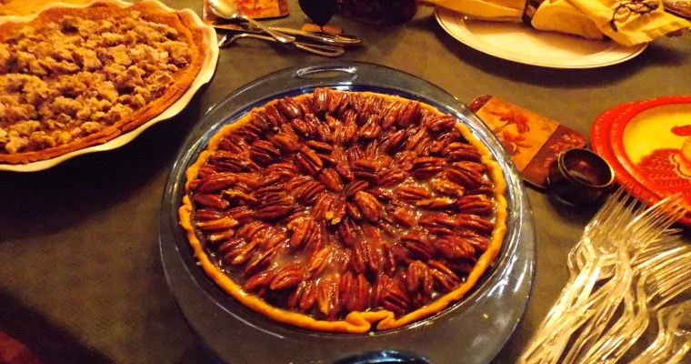 Food Magazine Treasures:  Salted-Caramel Chocolate Pecan Pie