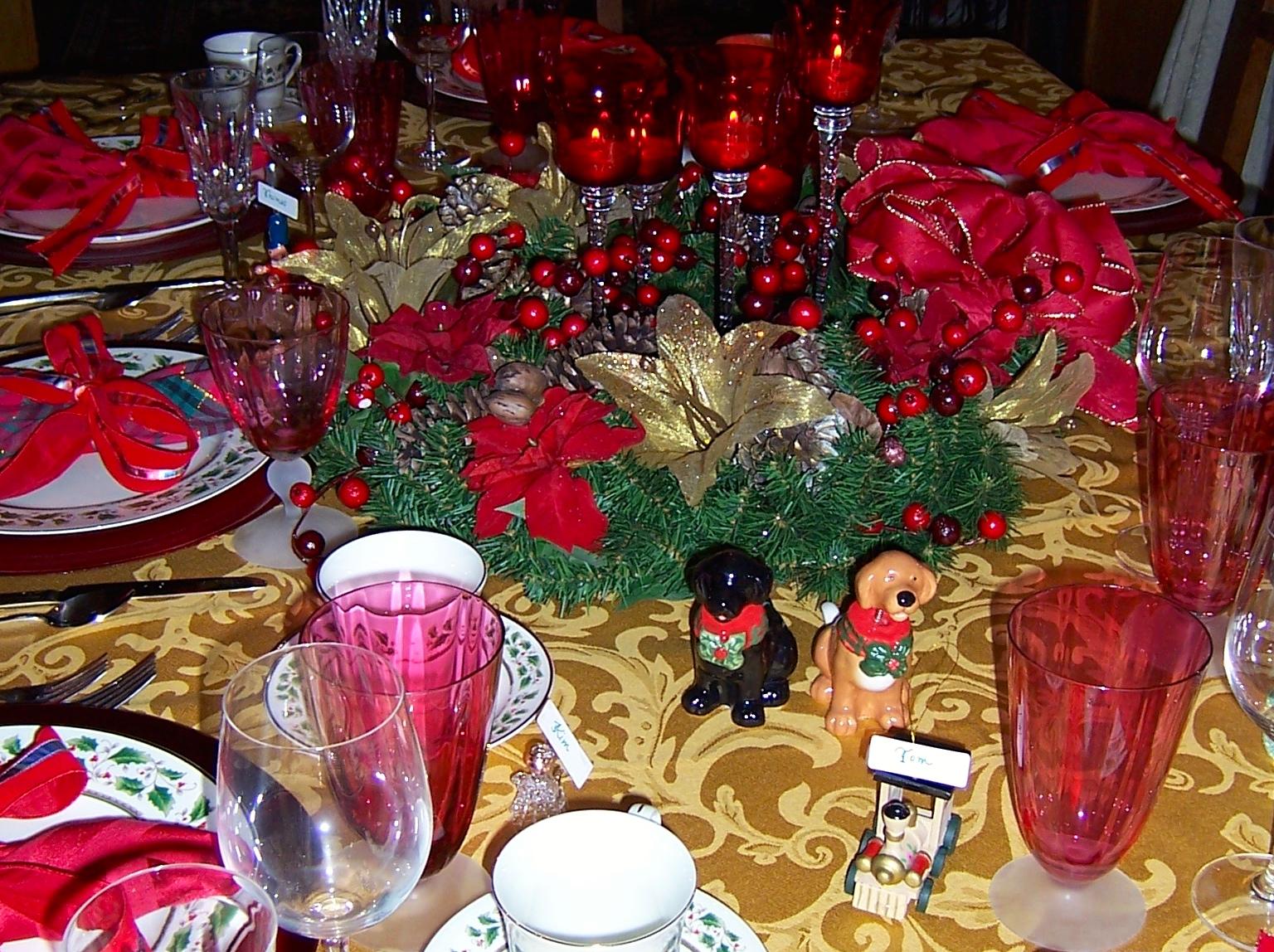 Setting a Beautiful Table – Whimsical Christmas
