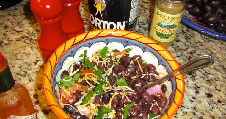 Throw-Down Side: Quick and Easy Black Bean Salad