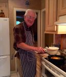 Dad at the Stove