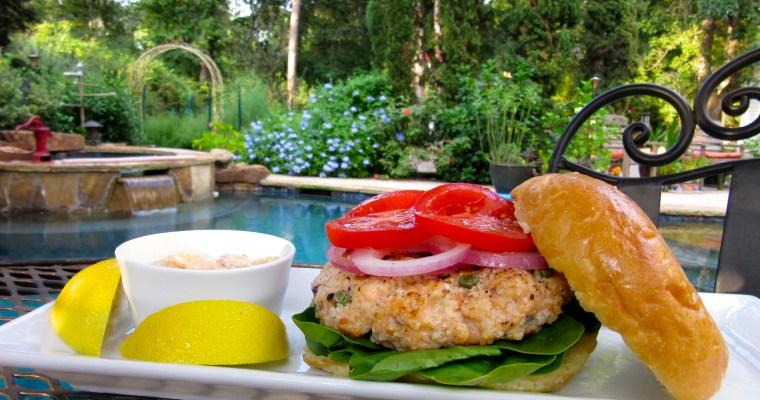Easiest Salmon Burgers Ever
