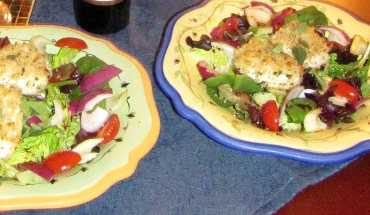 baked-goat-cheese-salad
