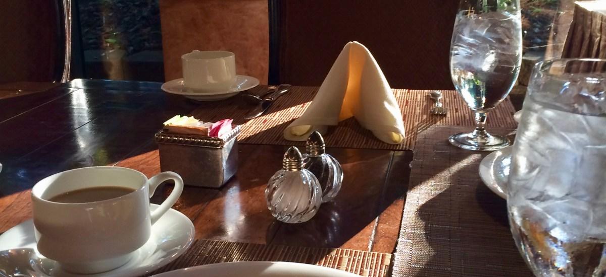 Still Life:  Sunshine on Breakfast