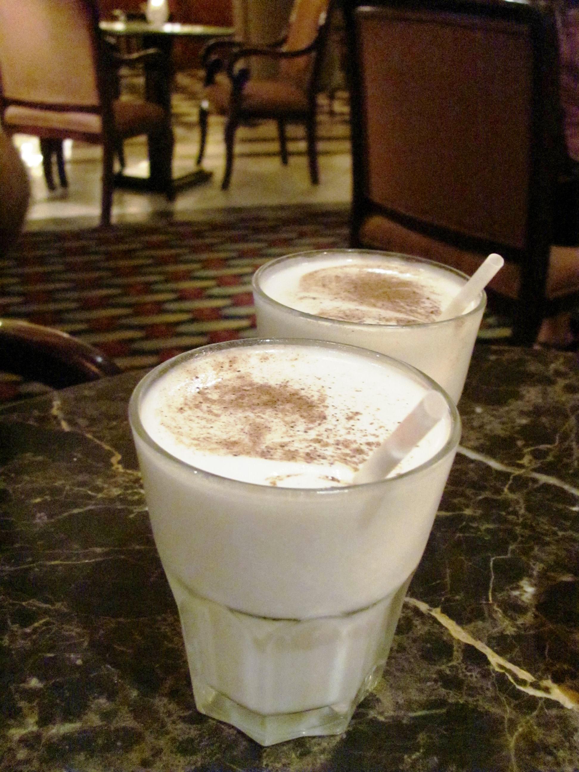 New Orleans Jazz Fest Anticipation:  Frozen Bourbon Milk Punch