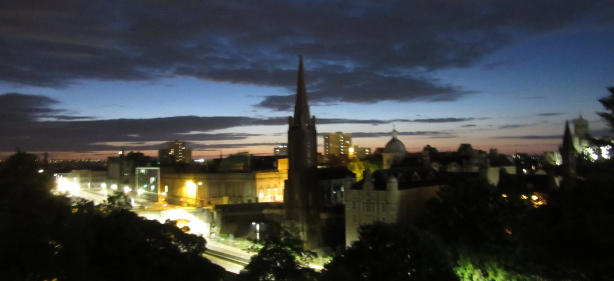 My Room with a View: Nautical Twilight in Aberdeen