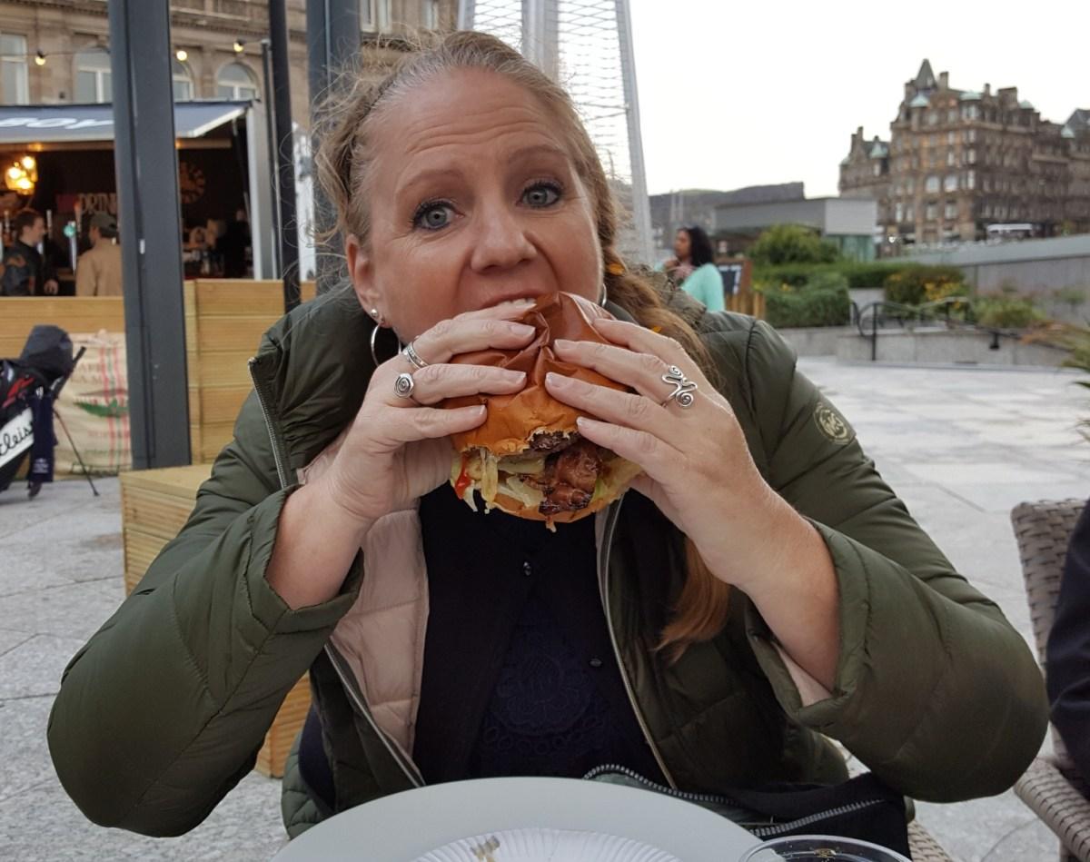 Tammy Eats Butcher Bad Boy Burger