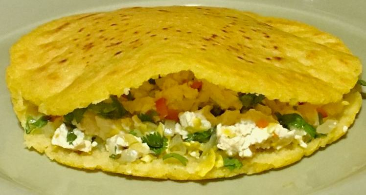 Arepas Revisited, with Input from Edinburgh and The Pleasant Peasant