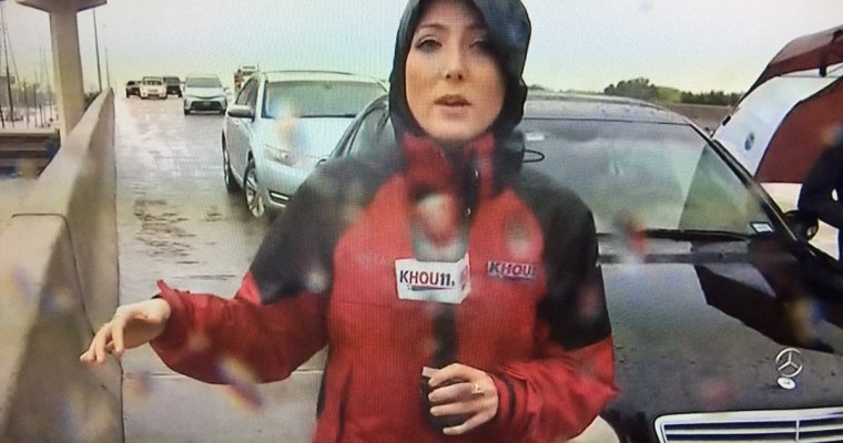 While her TV station flooded, a reporter stayed on air — and helped deputies rescue a driver – The Washington Post
