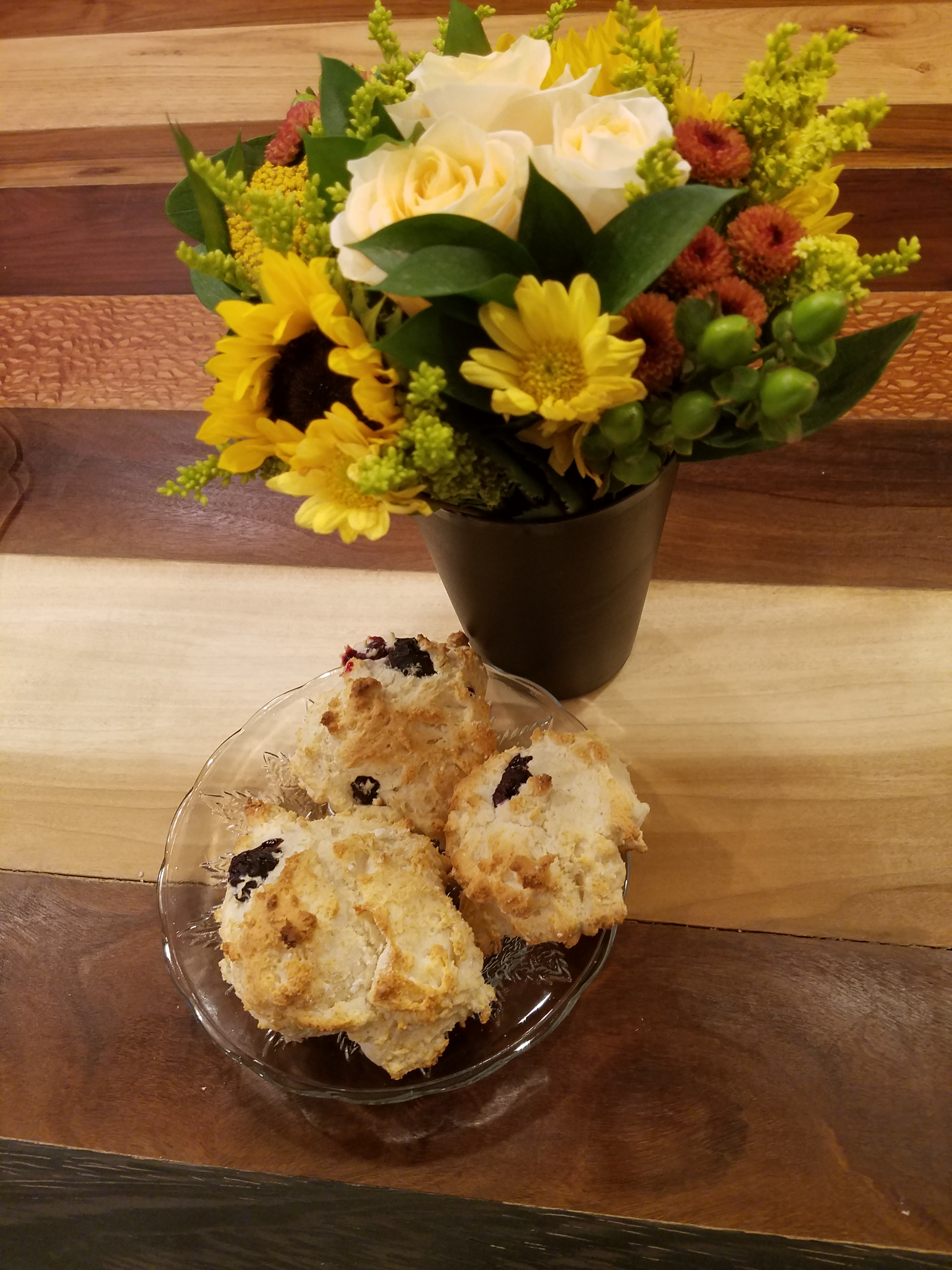 """Bisquick: A Justifiable Exception to the """"Low on the Food Chain"""" Rule – AKA – Don't These Blueberry Biscuits Look Good?"""