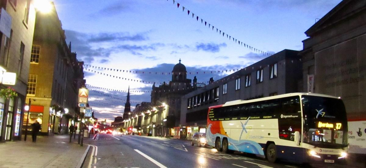 Haiku: Aberdeen at Night