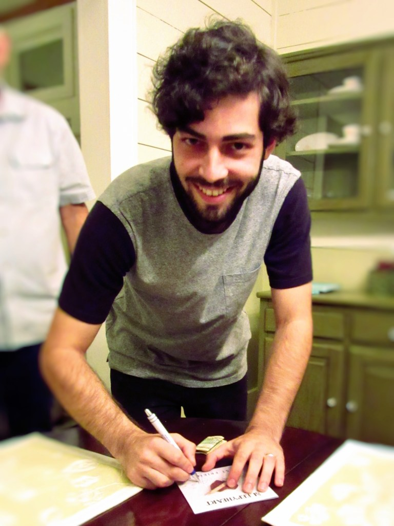 Nathaniel Autographing CD