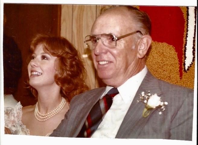 Grandpa and Kim 1984
