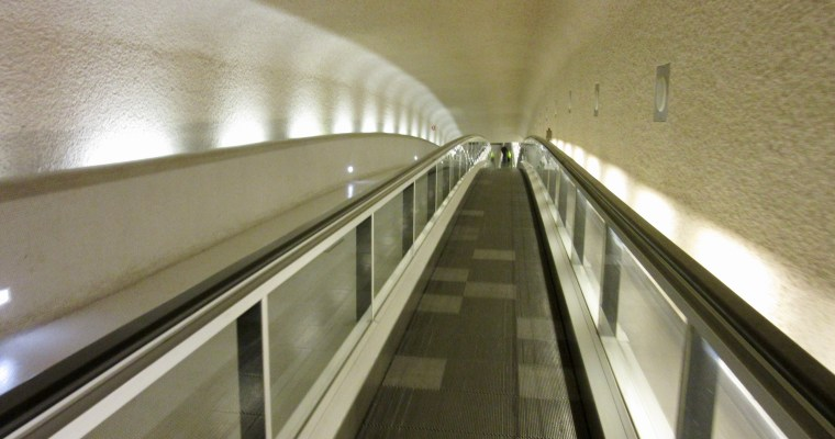 Haiku: Airport Moving Walkway