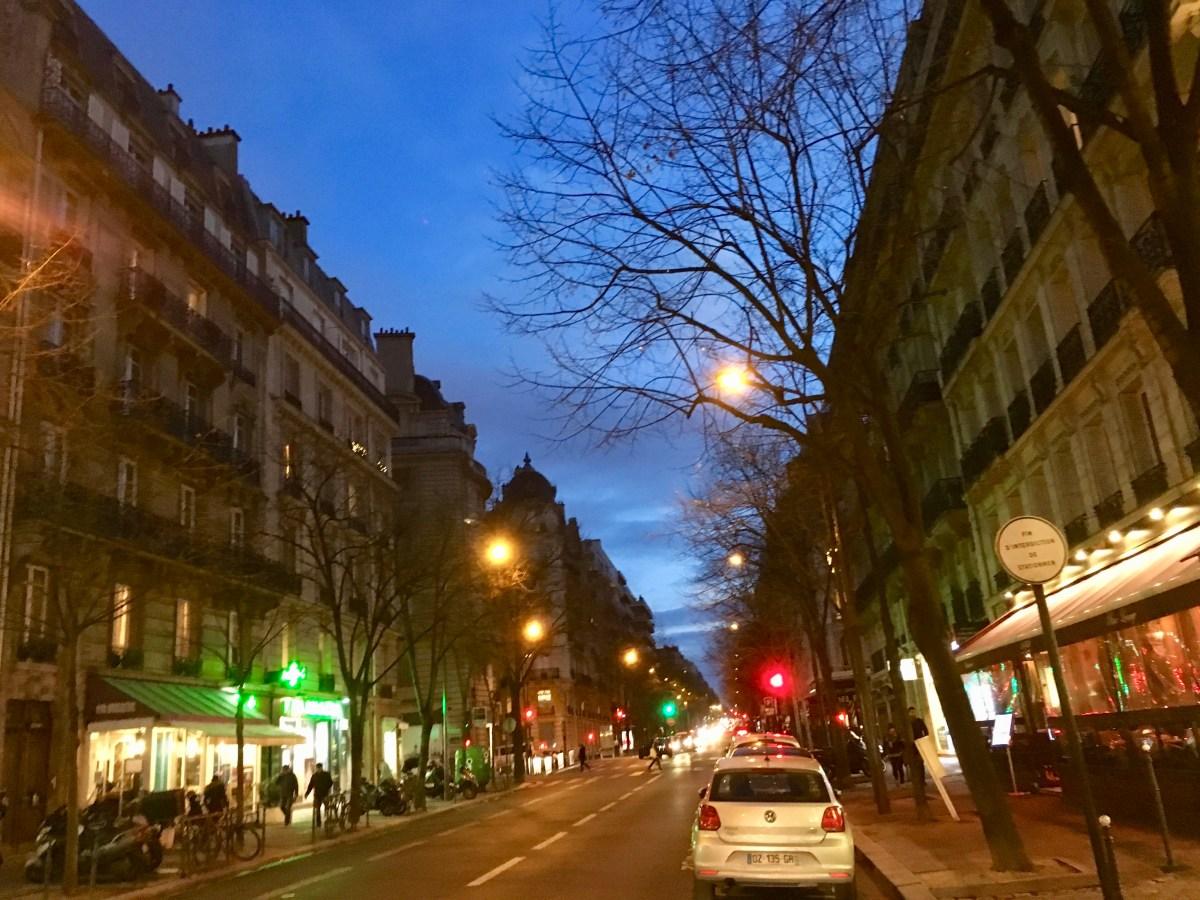 Paris Street Glow