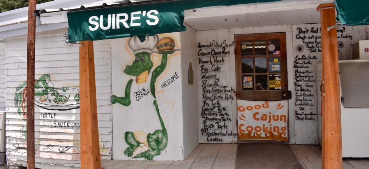 A Real Find in Cajun Country: Suire's Grocery and Restaurant
