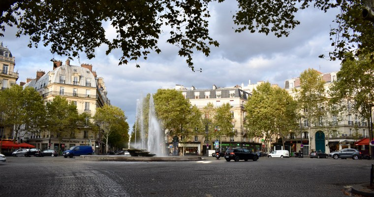 Place Victor Hugo in Paris: Take a Stroll with Me (and a haiku)