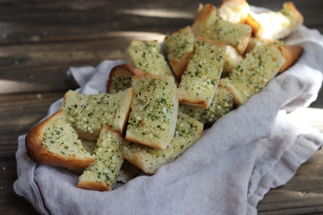 Found Recipe: Garlic Herb Butter French Bread