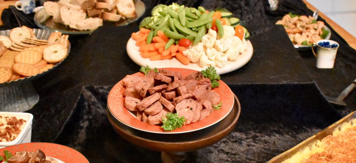 Party Recipe: Peppercorn Beef Sausage