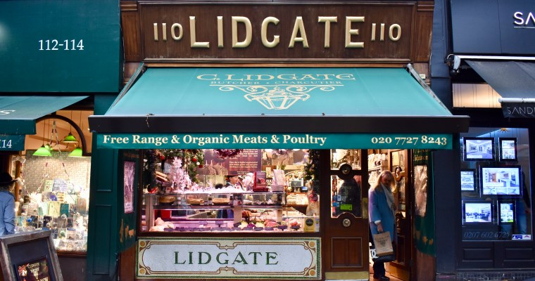 Window Shopping: C. Lidgate's in London