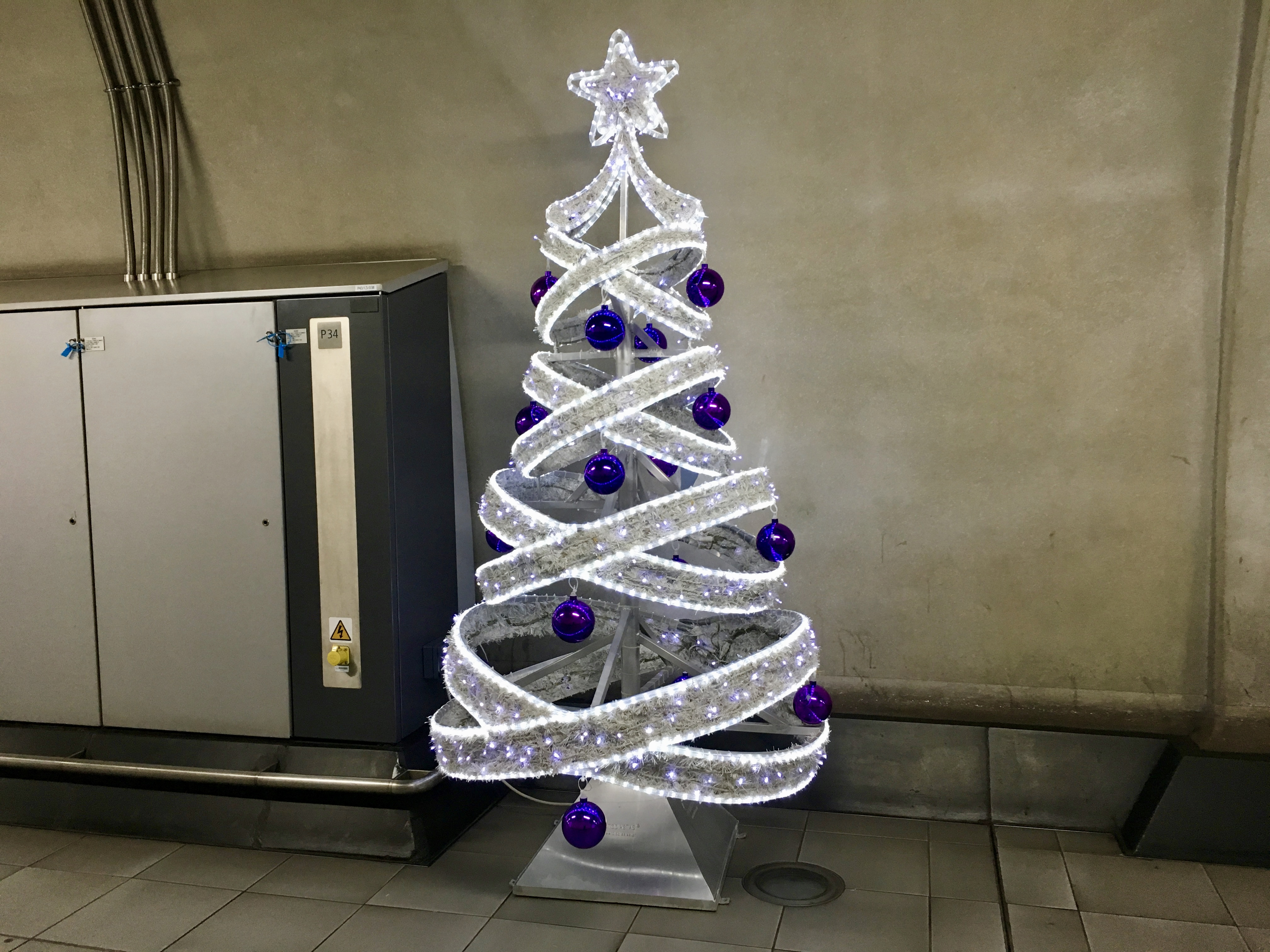 Deck the Hall at Heathrow