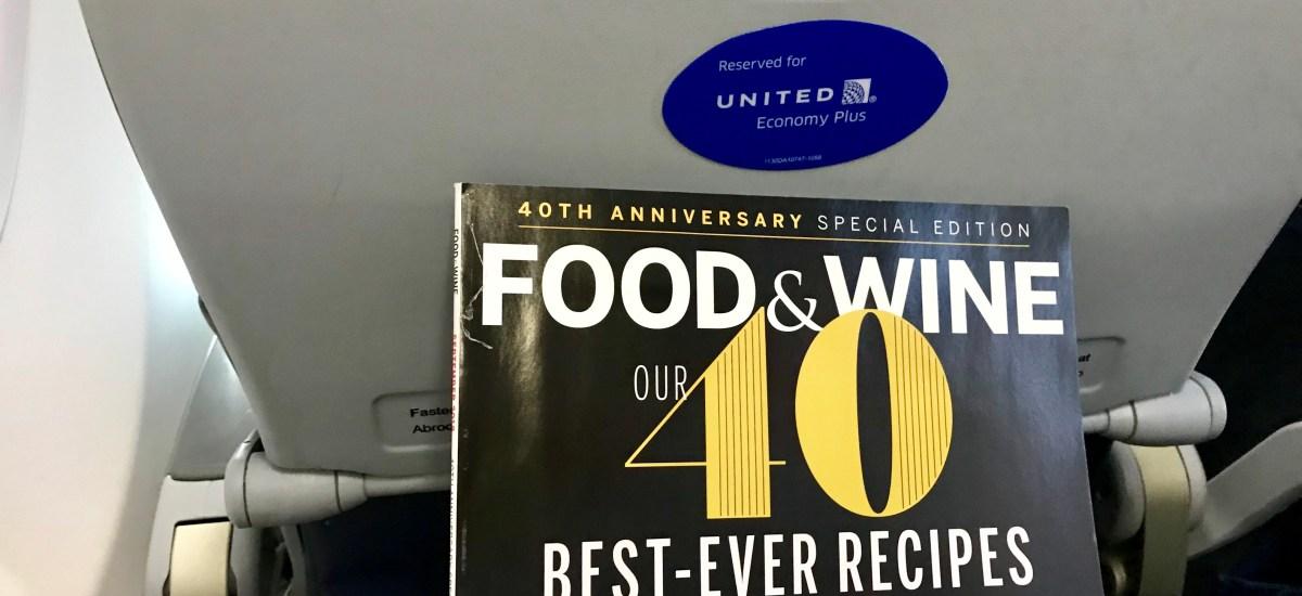 Haiku: Happy on a Plane with a Food Magazine