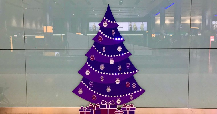 Deck the Halls at Heathrow – Again