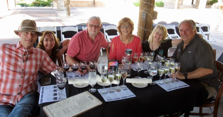 January Dreaming: An Afternoon of Wine Flights and Friends at Thornton Winery