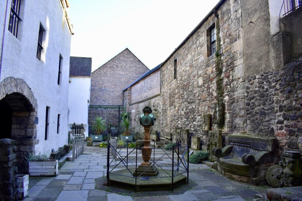 Courtyard at the Museum of Edinburgh