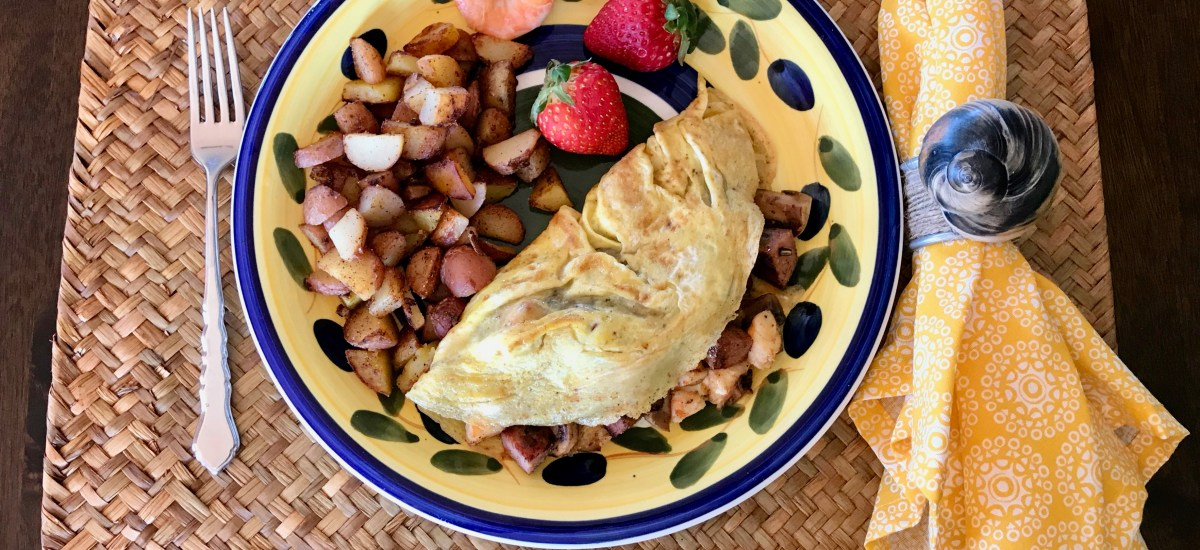 How to Make a Leftover Shrimp Boil into an Omelet