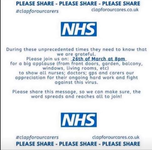 Gratitude in the UK: Clap for Our Carers