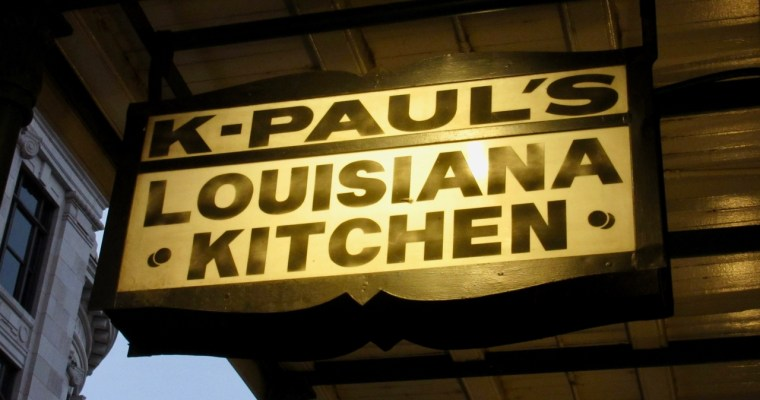 RIP K-Paul's Restaurant in New Orleans