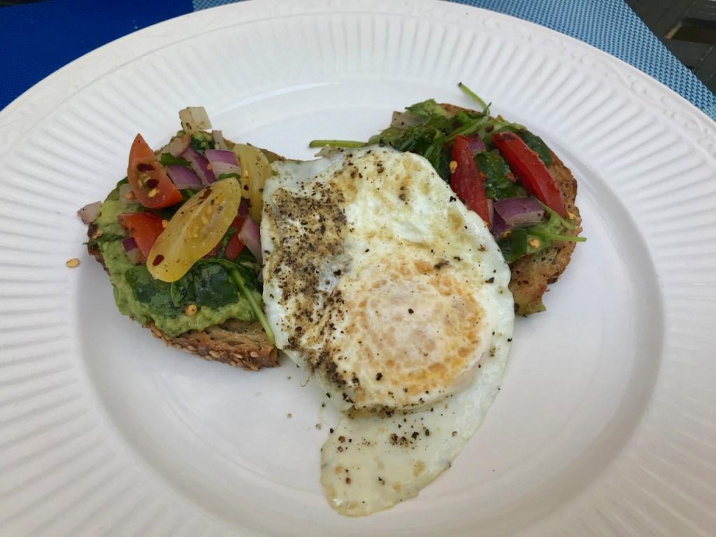 Avocado Toast with Over-Medium Egg