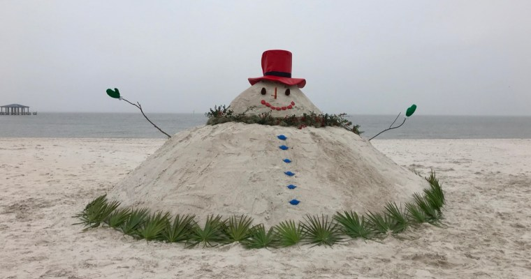 "What's Better Than a ""Sand-a-Claus""?"