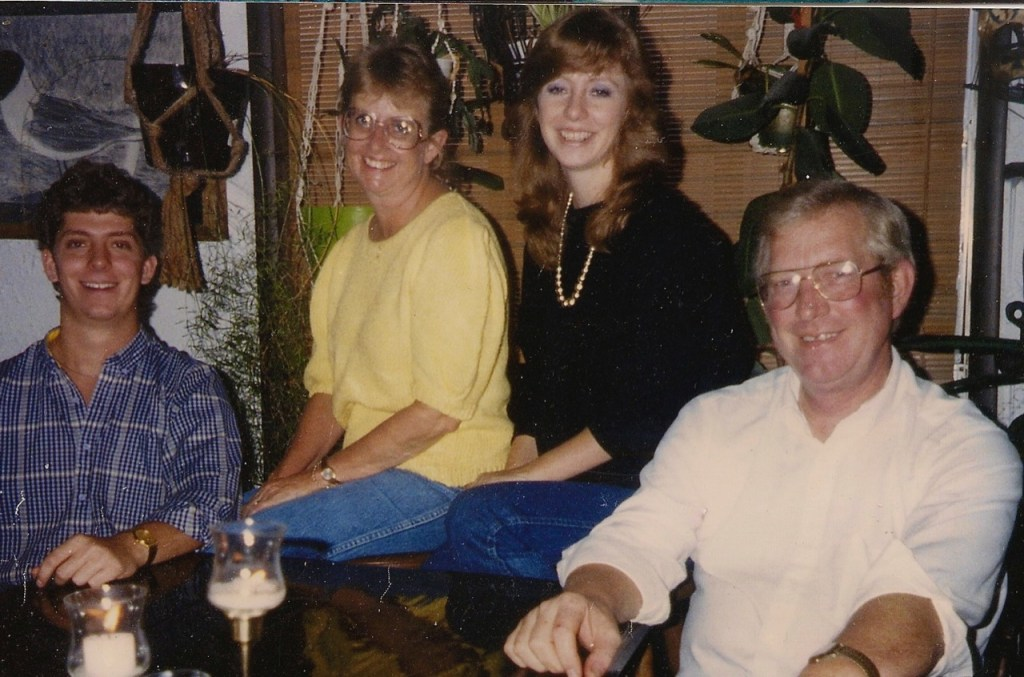 Harvell Family Christmas pic from  1983