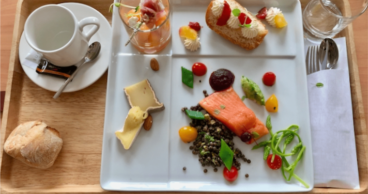 A Working Lunch in Paris is a Foodie's Delight