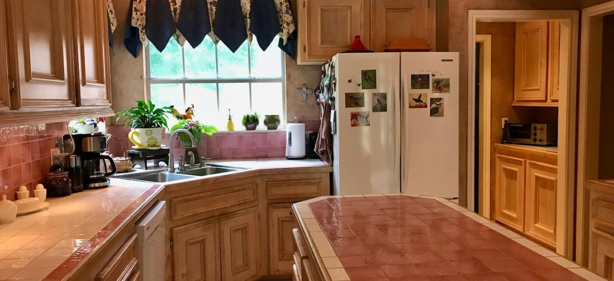 Goodbye, Pink-Tiled Galley Kitchen, Part One