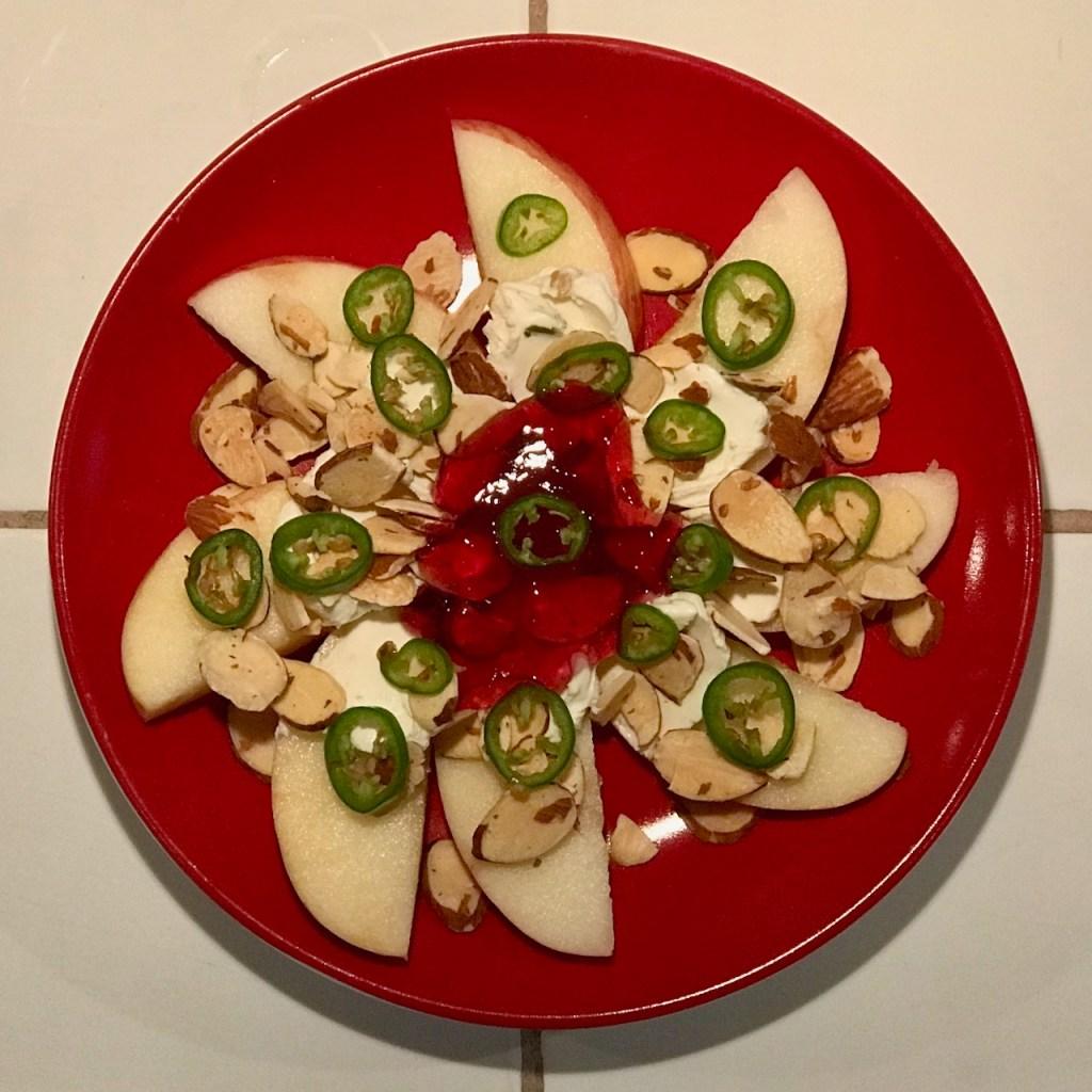 5-Minute Savory Sweet Apple Appetizer
