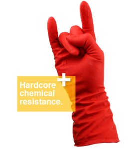 High quality chemical resistant glove