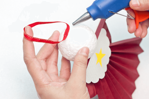 Make a Hanging Christmas Angel
