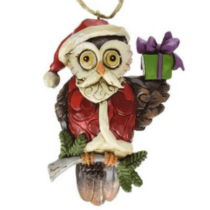 Owl Christmas Tree Orrnaments