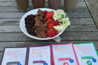 Missfits vegan protein powder bikini girls diary