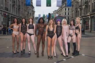 Close-up of Bluebella's Dare To Bare models - BLUEBELLA / BIKINI GIRLS DIARY / DENI KIRKOVA