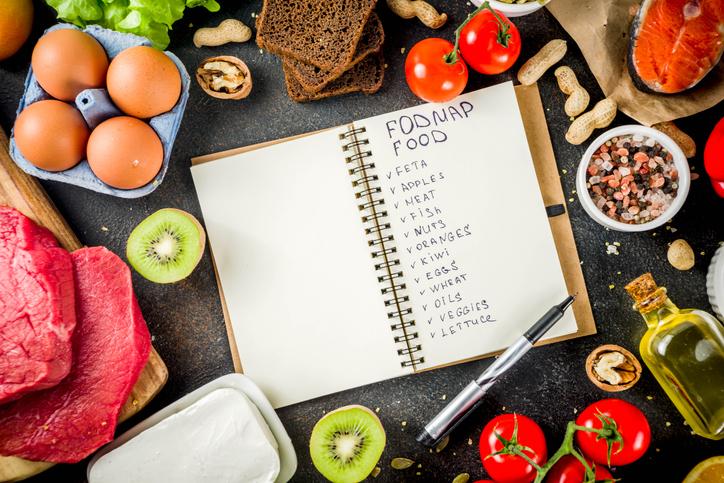 Fodmap healthy diet food