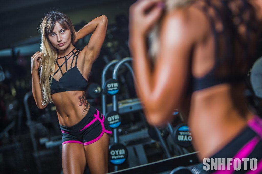 Deni Kirkova bikini fitness competitor