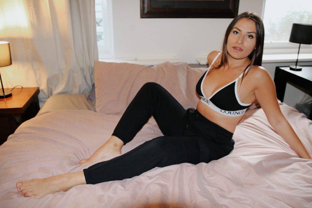 Femme Luxe loungewear goes best with an underwear set from their Lingerie collection
