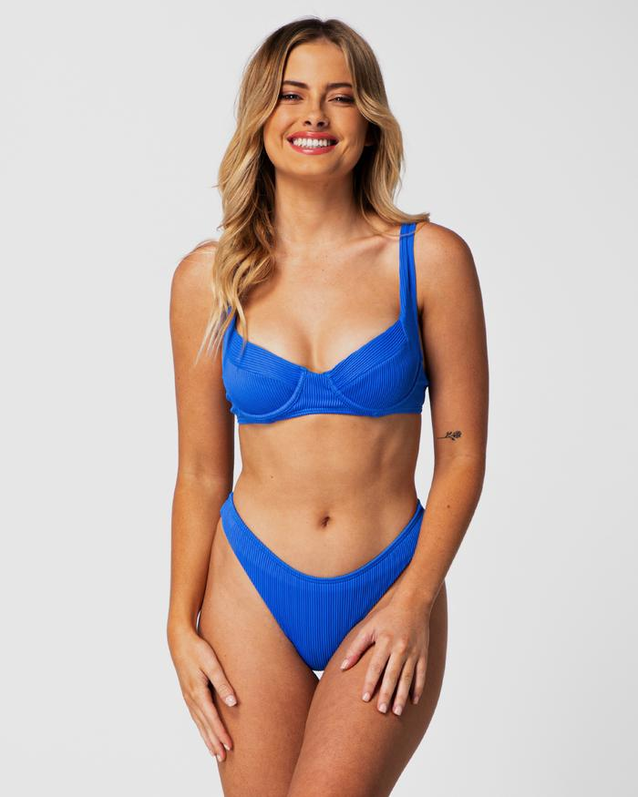 We love the Cali Rae Blueberry Barbados top and Ibiza bottoms