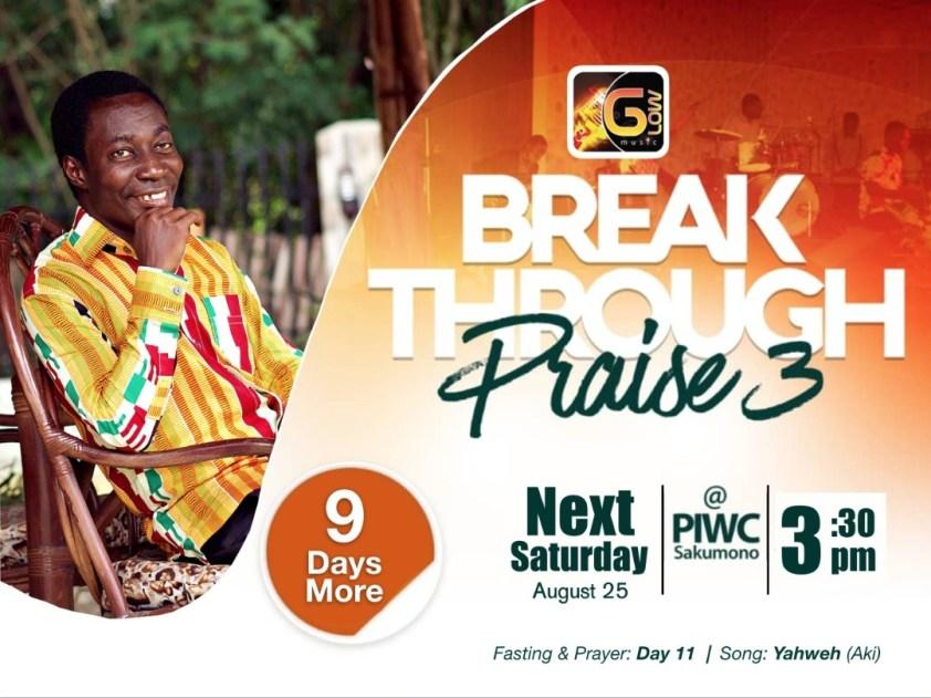 Aki invites you to Breakthrough Praise 3 with 9 more days to go